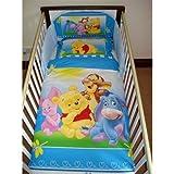 Disney Winnie the Pooh Happy Feelings Bedding Set (Cotbed - 140 x 70cm)