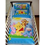 Disney Winnie the Pooh Happy Feelings Bedding Set (Cotbed - 140 x 70cm)