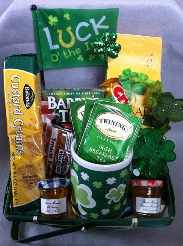 St. Patrick's Day Irish Tea Lovers Tea Gift Basket