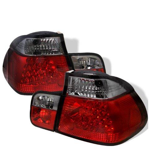 Redlines Tl-Be4699-4D-Led-Rs Red/Smoke Medium Led Tail Light For Bmw E46 3-Series'99-'01 4Dr - Pair