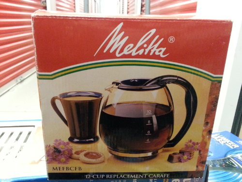 Melitta Fast Brew 12-Cup Replacement Carafe Model:Mefbcfb