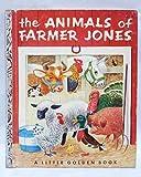 img - for THE ANIMALS OF FARMER JONES, A LITTLE GOLDEN BOOK book / textbook / text book