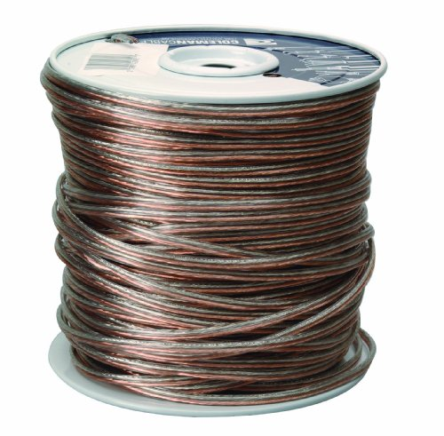 Coleman Cable 94603-66-18 Bulk Speaker Wire, 18-Gauge 2-Conductor AWG 500-Feet Spool (Good Wire compare prices)