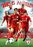 Liverpool FC 3D Poster 47cm x 67cm Photographs Of The Footie Favorties In Their Beloved Anfield