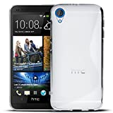 HTC Desire 820 Silikon Hülle Case in Transparent Cover