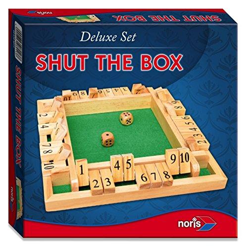 Noris Spiele 606108013 - Deluxe Cierra la caja, juego de sociedad