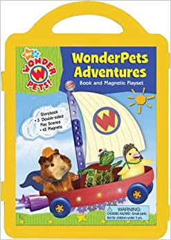 Wonderpets Adventures: Book and Magnetic Playset: Ruth Koeppel
