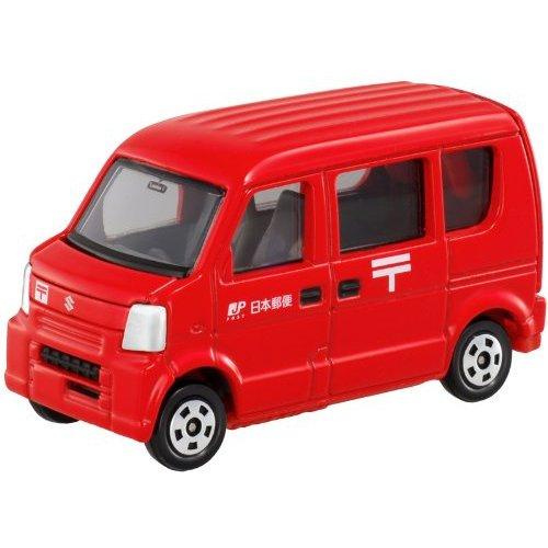 Tomica #68 Suzuki Every JP Post Van 1/57 Diecast Car - 1