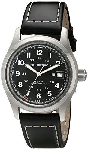 Hamilton H70455733 - Reloj de hombre automático negro