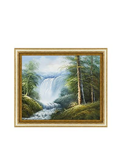 Point Of Relaxation Framed Oil Painting