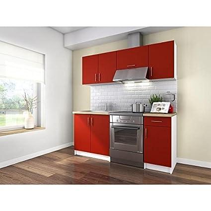 OBI Cuisine complete 1m80 - Rouge mat