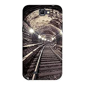 Stylish Track in Tunnel Back Case Cover for Galaxy Note 2