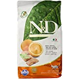 Farmina N&D Grain Free Fish And Orange Adult Cat Food - 1.5 Kgs