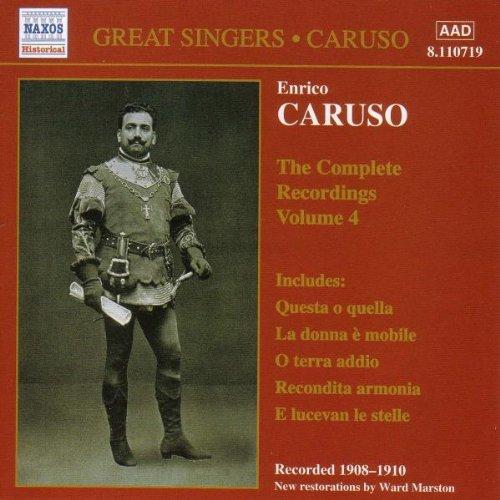 Enrico Caruso: The Complete Recordings, Vol. 4