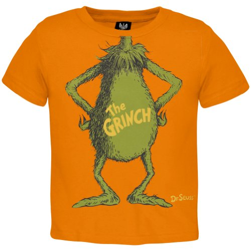 Dr. Seuss - I Am The Grinch Toddler Costume T-Shirt front-152043