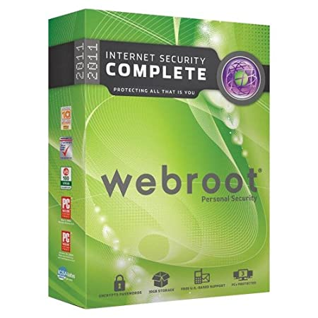 Webroot Internet Security Complete 2011, 3 user (PC)