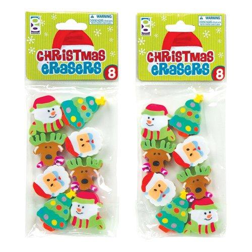 weihnachten-fun-radierer-2-packungen-von-8-designs-16-radierer-in-insgesamt