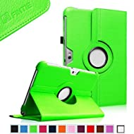 Fintie 360 Degrees Rotating Stand Case Cover for Samsung Galaxy Note 10.1 inch Tablet N8000 N8010 N8013 - Green...