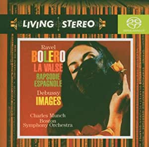 Bolero, La Valse/Images (Munch, Boston So) [Sacd/CD Hybrid]