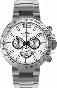 Jacques Lemans Men's 1-1717D Milano Sport Analog Chronograph Watch