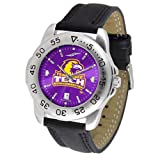 Tennessee Tech Golden Eagles NCAA AnoChrome &quot;Sport&quot; Mens Watch (Leather Band)