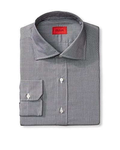 Isaia Men's Check Dress Shirt