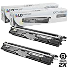 LD © Compatible Replacements for Konica Minolta A0V301F Set of 2 High Yield Black Laser Toner Cartridges for use in Konica Minolta MagiColor 1600W, 1650EN, 1680MF, and 1690MF Printers