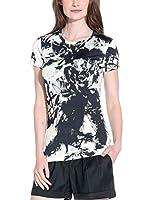 Richmond Camiseta Manga Corta (Negro / Marfil)