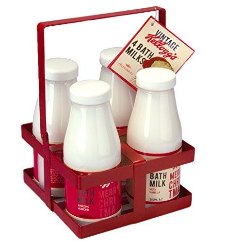 Kelloggs Vintage Santa Weihnachten Bad Milchkiste