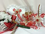 Wedding Ceremony Party Value Package Cups Pillow Basket Cake Knife Flower Bouquet