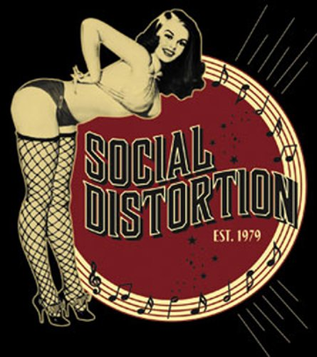 Licenses Products Social Distortion Burlesque Sticker
