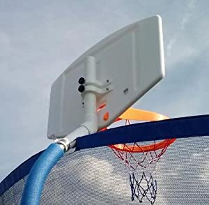 Buy Basketball Hoop Set for Trampoline for Angled Poles (Adjustable) by PlayFun Sports