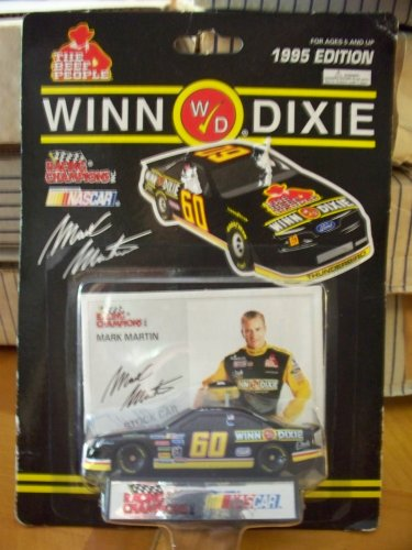 Winn Dixie Racing Champions Mark Martin Stock Car