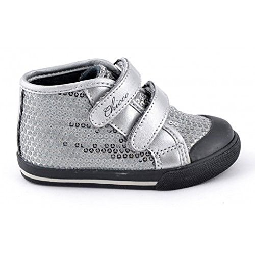 Chicco - Sneakers, Girmine, bimba (21, Silver)