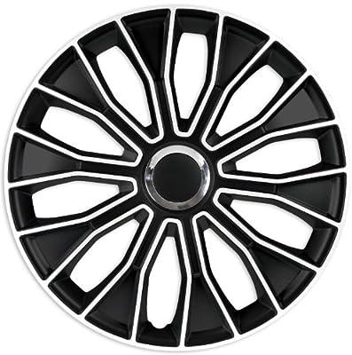 """Radzierblenden Radkappen Radabdeckung 16"""" Zoll #95 SCHWARZ WEIß ABS von Zentimex auf Reifen Onlineshop"""