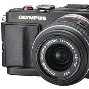 OLYMPUS マイクロ一眼 PEN Lite E-PL6 レンズキット ブラック E-PL6 LKIT BLK