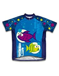 Bloop Bloop Short Sleeve Cycling Jersey for Women