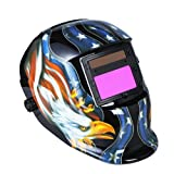 Andoer Clearvision Welding Helmet Solar Powered Automatic/...