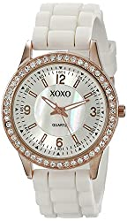 XOXO Women's XO8038 Rhinestone-Accented Watch