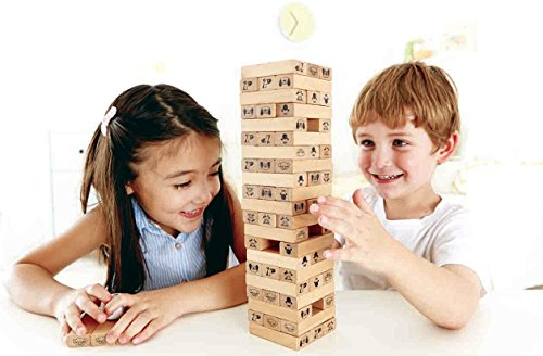Hape - Toppling Wood Blocks - NEW FALL 2015 JungleDealsBlog.com