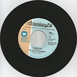 windy / morning girl 45 rpm single
