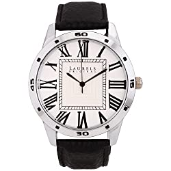 Laurels Maestro 1 Analog Silver Dial Mens Watch ( Lo-Mas-101)
