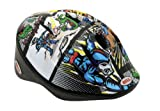 Bell Kids Bellino Helmet - White/Blue Super Hero, Small/Medium