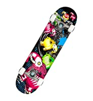 Punisher Skateboards Elephantasm Complete 31-Inch Skateboard All Maple by PUNISHER