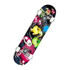 Buy Punisher Skateboards Elephantasm Complete 31-Inch Skateboard All Maple by Punisher Skateboards