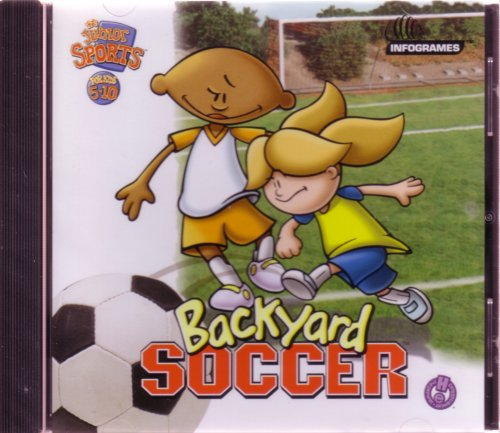 backyard soccer jewel case pc mac 9 15 backyard soccer 2004 pc mac