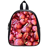 New promotion Red Onions Custom Kids School Bag Backpack (Small) Trendy