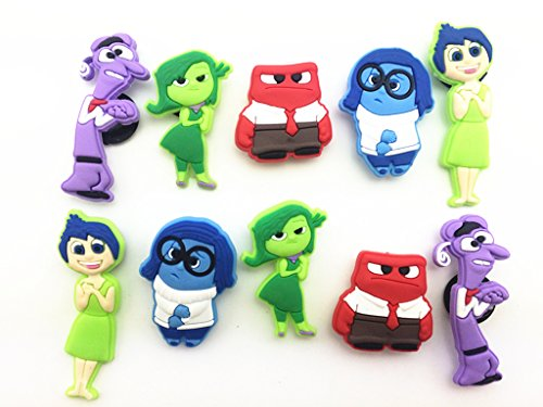 Buy Cheap 10pc Inside Out Shoe Charms for Croc Shoes & Wristband Bracelet