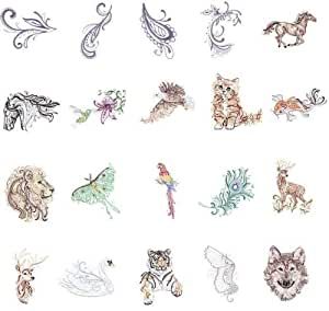 OESD Embroidery Machines Designs CD MAJESTIC ANIMALS