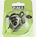 PME Rose Petal Cutter Set of 4, 15,25, 35 & 40mm, for Icing, Cake Decoration and Sugarcraft